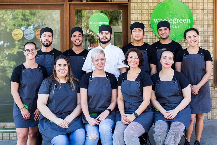 Wholegreen bakery Team