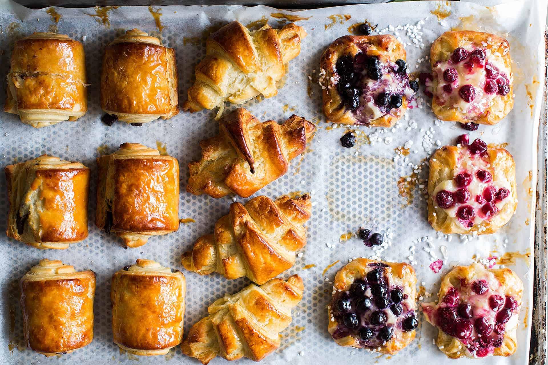 Gluten free pastries
