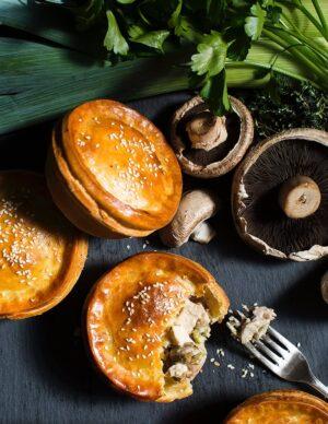 Gluten-free Chicken Mushroom And Leek Pie