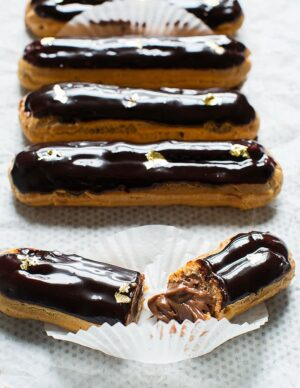 Gluten-free Chocolate Eclair