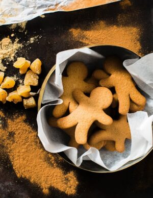 Gluten-free Gingerbread Man Individual