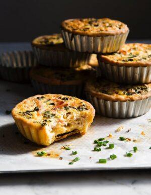 Gluten-free Quiche Lorraine Individual