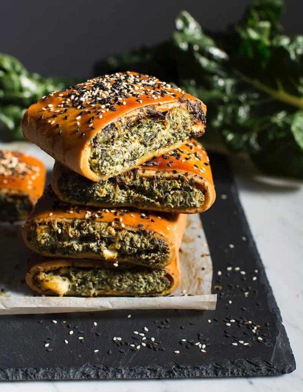 Gluten-free Spinach And Feta Pastie