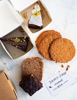 Wholegreen bakery gluten-free dairy free sweets