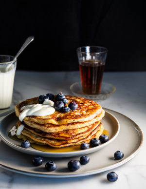 Wholegreen Bakery gluten-free Buttermilk Pancakes & Corn Fritters